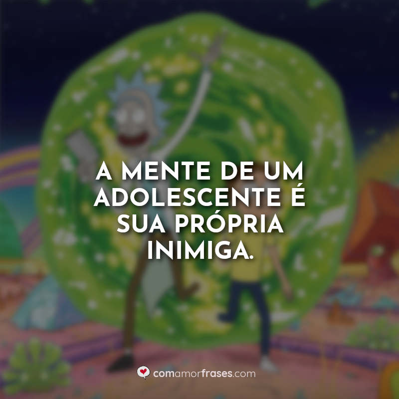 Frases Rick and Morty Série.