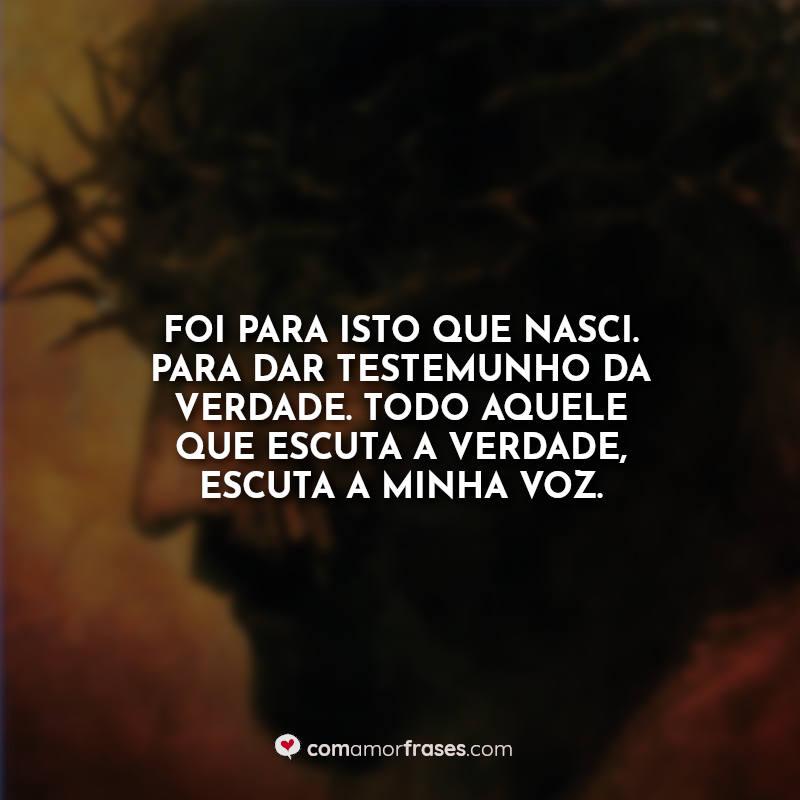 Frases A Paixão de Cristo Filme.