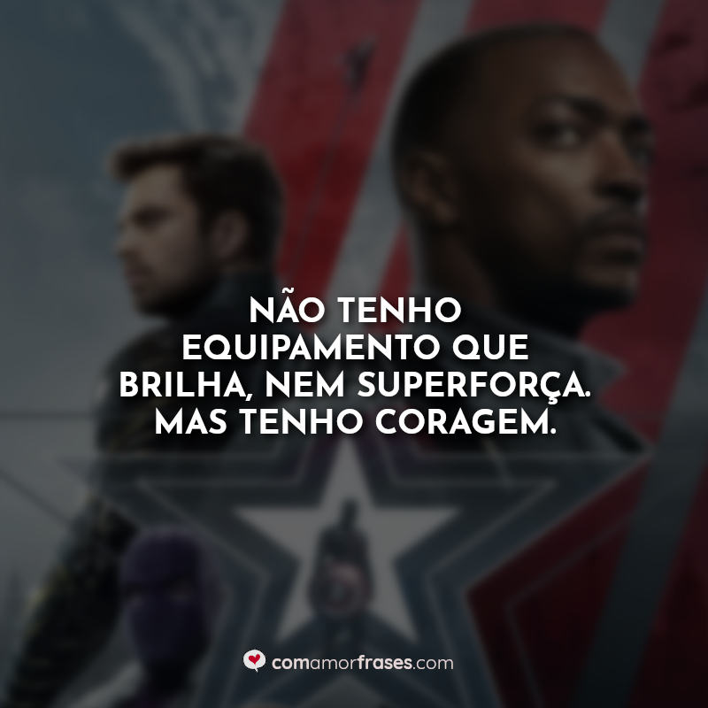 Frases The Falcon and the Winter Soldier.